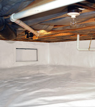 crawl space repair system in Chinook