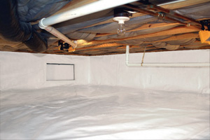 Crawl Space Repair After in Cut Bank