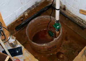 Extreme clogging and rust in a Turner sump pump system