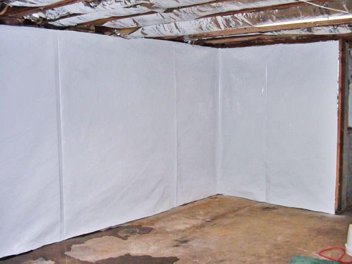 cleanspace basement wall vapor barrier upgrade your basement walls